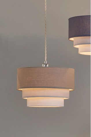 Village At Home 3 Tier Pendant Easy Fit Shade