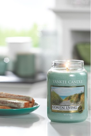 Yankee Candle Classic Large Costal Living Candle