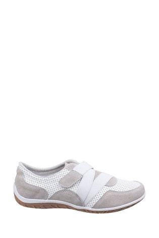 Fleet & Foster White Bellini Comfort Shoes