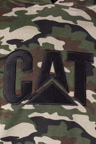 CAT Green Trademark Hoodie