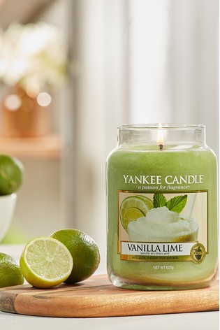 Yankee Candle Classic Large Vanilla Lime Candle