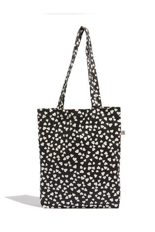 Oasis Natural Heart Canvas Bag For Life