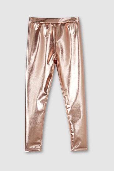 Mintie by Mint Velvet Rose Gold Leggings