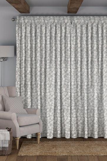 Leya Blush Pink Made To Measure Curtains