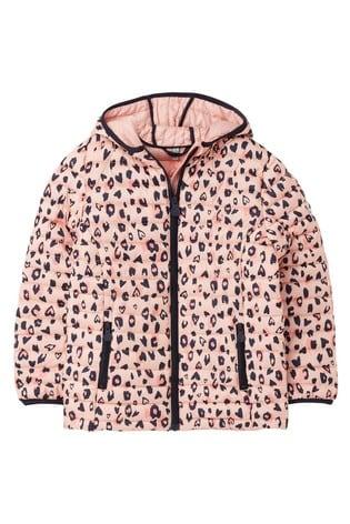 Joules Kinnaird Print Packaway Padded Jacket