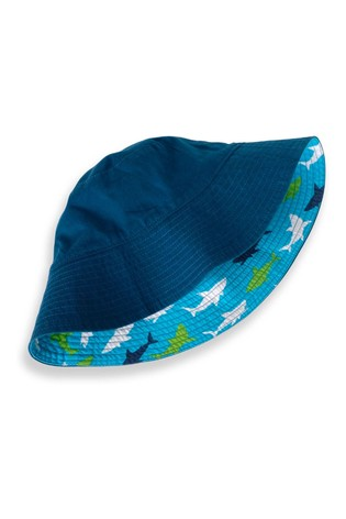 Hatley Great White Sharks Reversible Sun Hat
