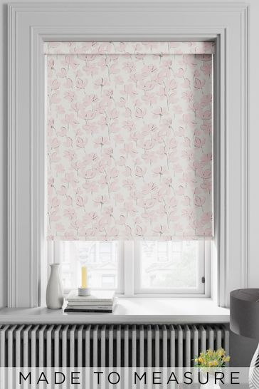 Rosanna Candyfloss Pink Made To Measure Roller Blind