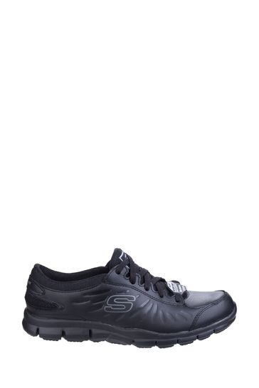 Skechers® Eldred Slip Resistant Lace-Up Work Shoes