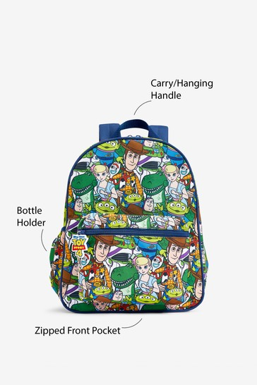 Multi Toy Story Print Backpack