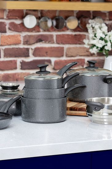 Stone Coated Cookware Set by Tower