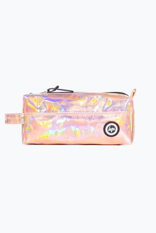 Hype. Rose Holographic Pencil Case