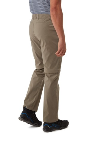 Craghoppers Grey Kiwi Pro Convertible Trousers