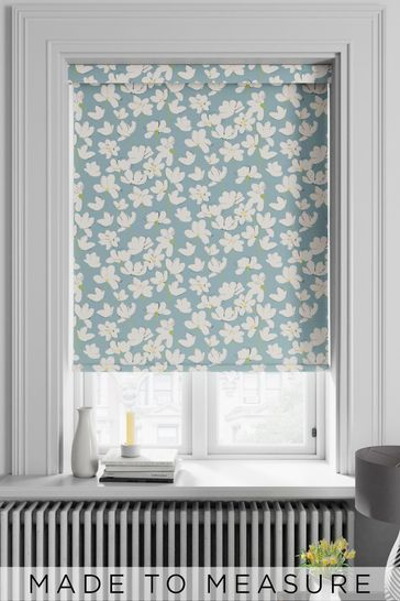Rosanna Turquoise Blue Made To Measure Roller Blind