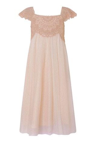 Monsoon Pink Estella Dress