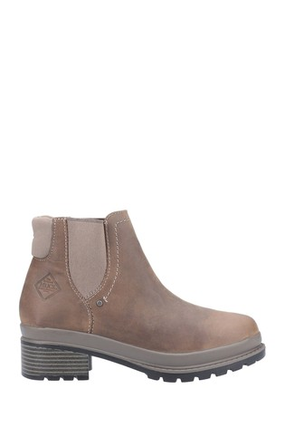 Muck Boots Brown Liberty Chelsea Boots