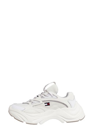 Tommy Hilfiger White Chunky Trainers