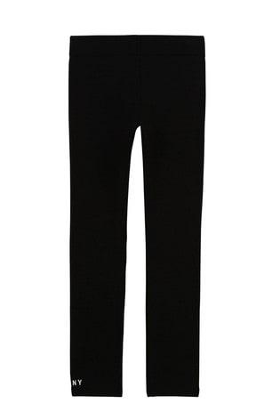 DKNY Black Logo Leggings