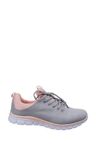 Fleet & Foster Grey Pompei Summer Shoes