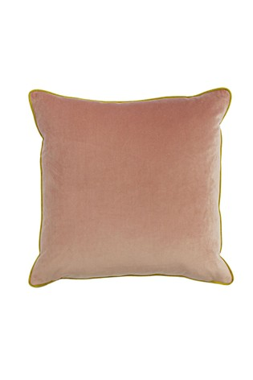 Furn Pink Gemini Double Edged Piping Cushion