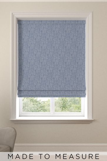 Sayeh Ink Blue Made To Measure Roman Blind