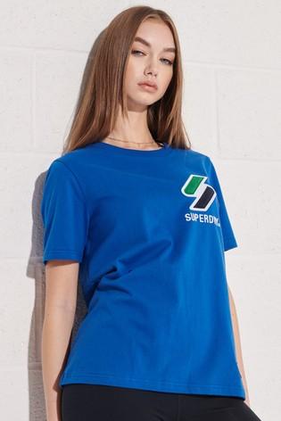 Superdry Organic Cotton Sportstyle Chenille T-Shirt