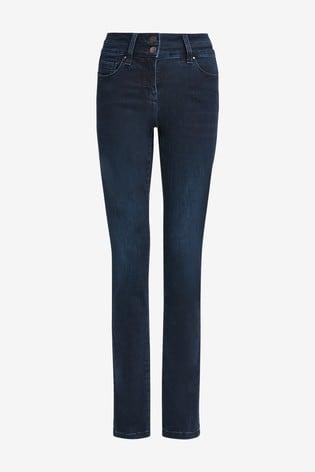 Inky Wash Lift, Slim & Shape Slim Jeans