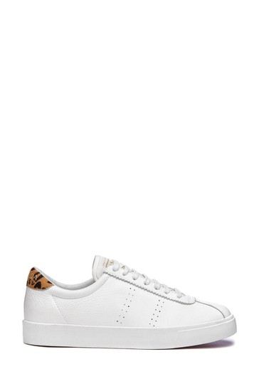 Superga® 2843 Leather Sports Trainers