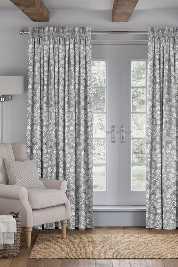 Leya Silver Yellow Made To Measure Curtains