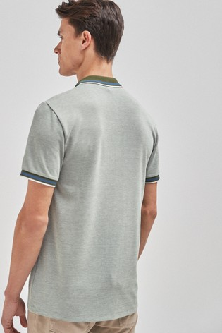 Green Soft Touch Smart Regular Fit Polo