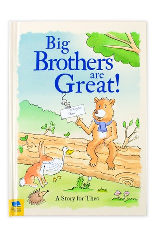 Personalised Big Brothers Are Great Hardback Book by Signature Book Publishing
