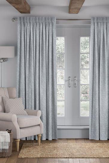 Linara Flint Grey Made To Measure Curtains