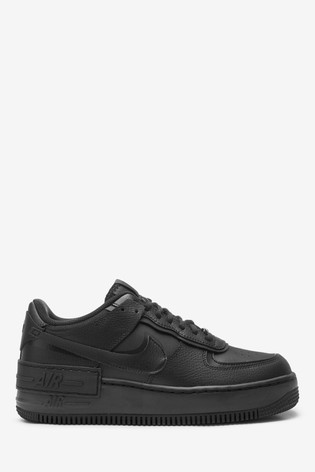 Buy Nike Black Air Force 1 Shadow Trainers From Next Ireland Free delivery and returns on ebay plus items for plus members. nike black air force 1 shadow trainers