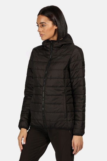 Regatta Black Women's Helfa Baffle Jacket