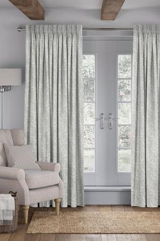 Dove Grey Linara Made To Measure Curtains