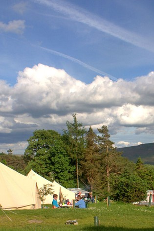 Lake District One Night Bell Tent Glamping Break Gift Experience by Virgin Experience Days