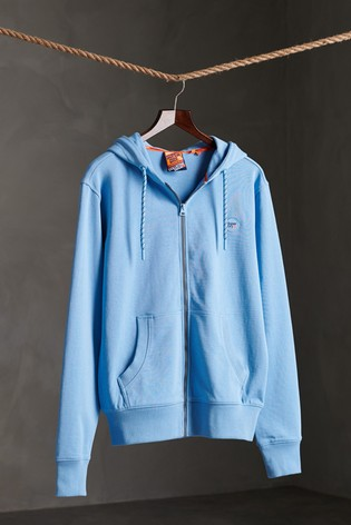 Superdry Collective Loopback Zip Hoody