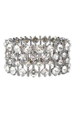 Hobbs Silver Tone Aria Bracelet