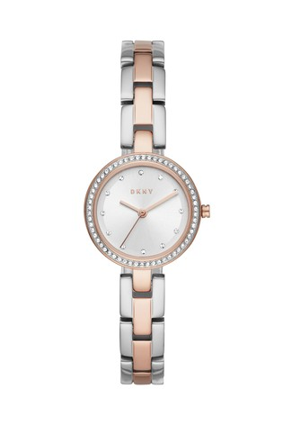 DKNY City Link Two Tone Watch