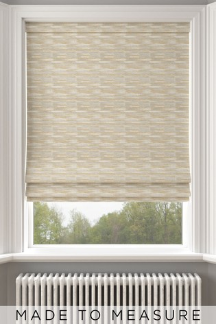 Clio Ochre Yellow Made To Measure Roman Blind