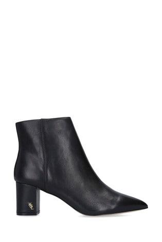 Kurt Geiger London Black Burlington Leather Ankle Boots