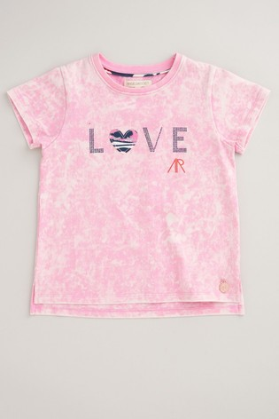 Angel & Rocket Pink Love T-Shirt