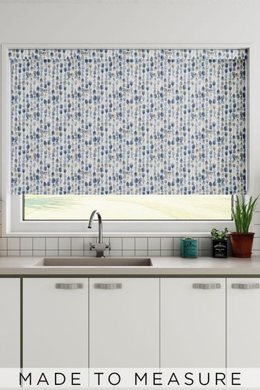 Erica Cornflower Blue Made To Measure Roller Blind