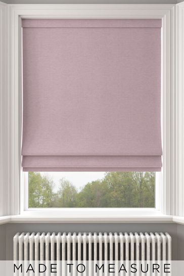 Purple Soho Orchid Made To Measure Roman Blind