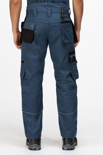 Regatta Blue Execute Holster Workwear Trousers