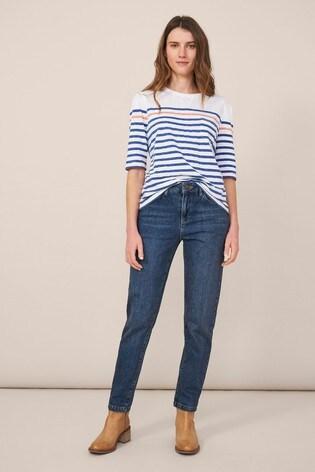White Stuff Denim Relaxed Slim Jeans