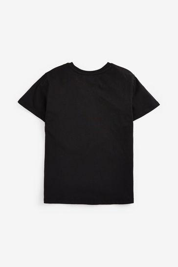 Black Minecraft T-Shirt (4-14yrs)