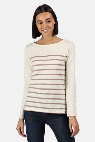 Regatta Cream Ferelith Long Sleeved T-Shirt