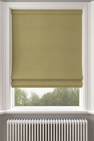 Soho Olive Green Made To Measure Roman Blind