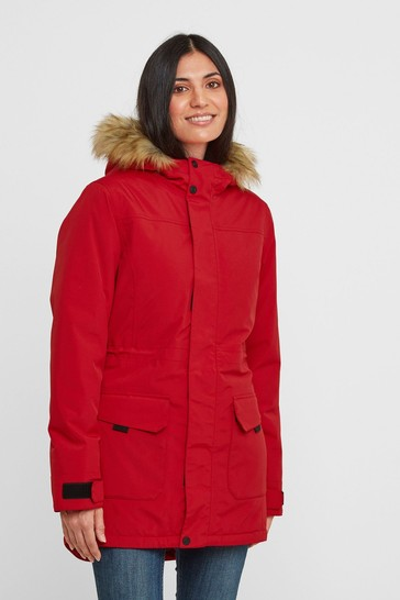 Tog 24 Womens Red Alderidge Waterproof Parka