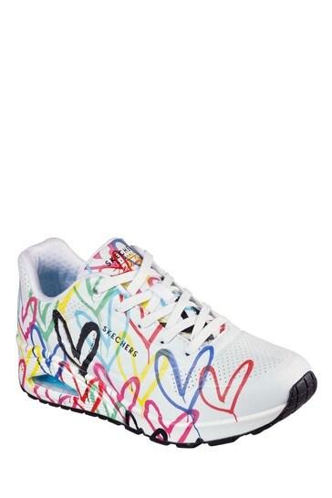 Skechers® White Uno Trainers